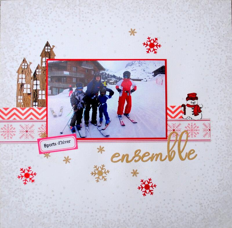 Ensemble au ski