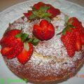 Cake citron-coco-fraise
