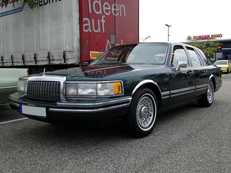 LINCOLN Town Car 1990 à 1994, Rencard du Burger King, Offenbourg 1