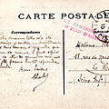 Saint-Cloud, Caserne Sully, correspondance Charles Wiart 62e batterie 02-02-1915