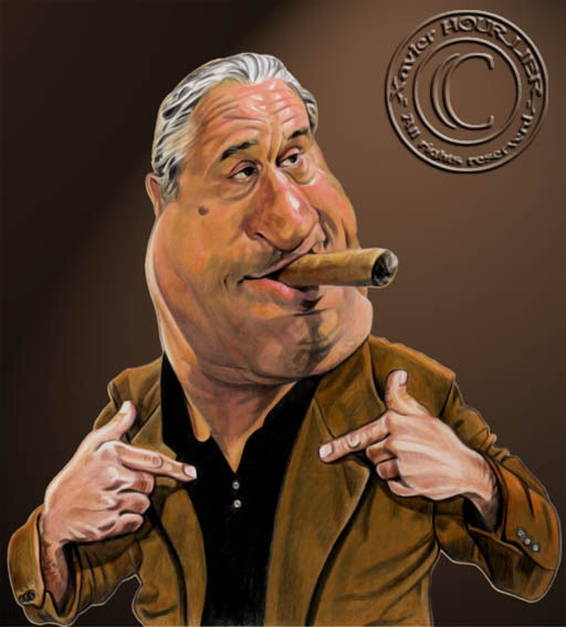 ROBERT_DE_NIRO_by_xavier_hourlier