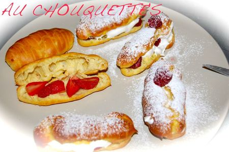 ECLAIR CHANTILLY FRUITS ROUGES 4