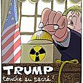 Trump touche au sacré