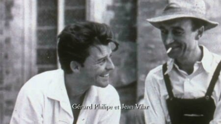 Gérard Philippe et Jean Vilar
