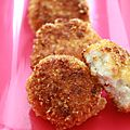 - nuggets de cabillaud pour faire aimer le poisson aux enfants -
