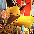 Des fauteuils à l'affiche ... à arles