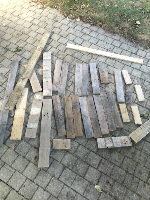 lettre bois industrielle diy