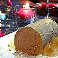 Foie gras au torchon.