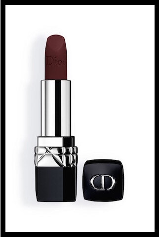 dior en diable rouge couture furious matte