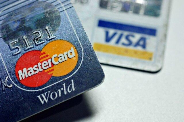 Carte Visa et Mastercard