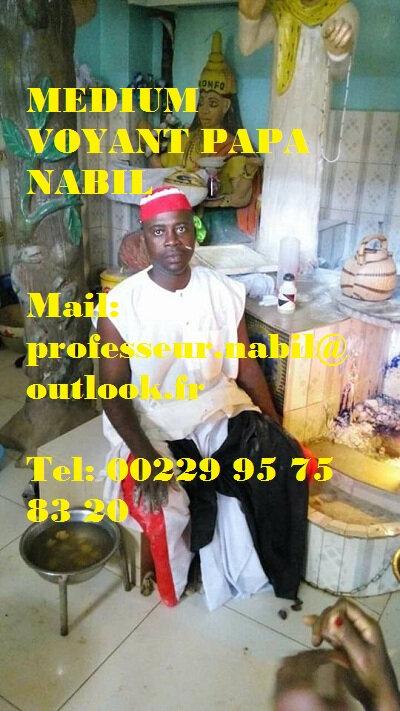 MEDIUM VOYANT AFRICAIN EFFICACE RAPIDE PAPA NABIL