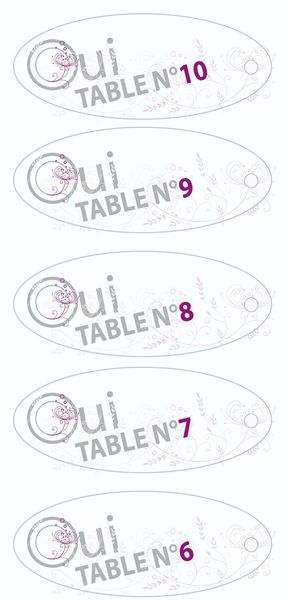 Plan de table - 2