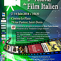 Réunion: présentation de la deuxième édition du festival du film italien