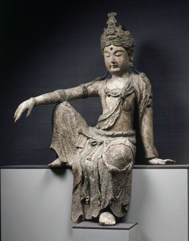 Guanyin seated in Royal-ease pose, ca
