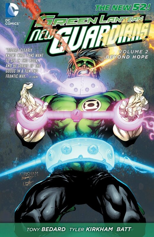 green lantern new guardians vol 2 beyond hope TP
