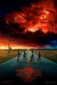 Stranger Things S2 affiche