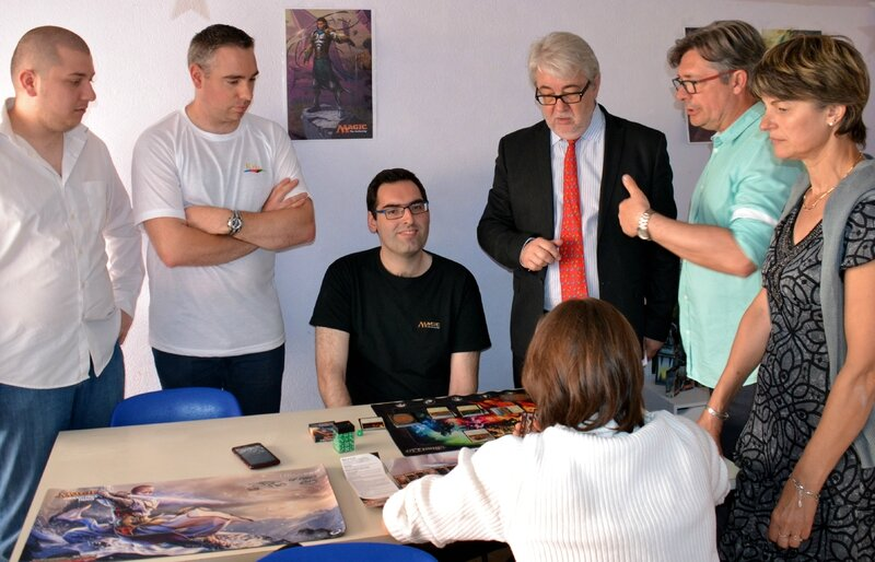 FETE JEU 2016 MEDIATHEQUE Magic Gathering explications