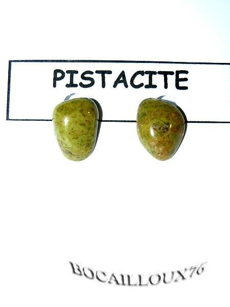 BOUCLE OREILLE PISTACITE 4 CLIPS DORE