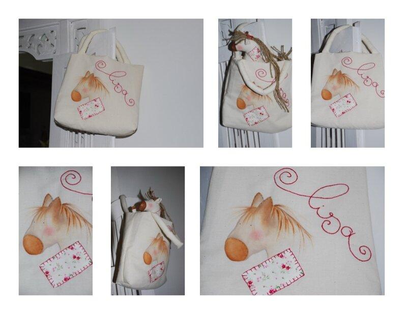 Un sac pour le cheval de lisa