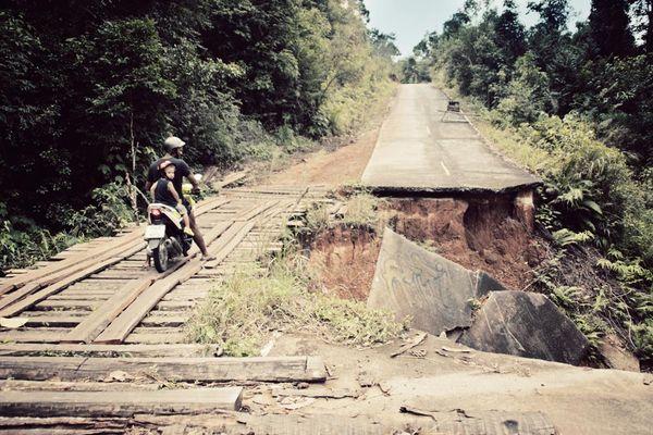 Route-escarpée