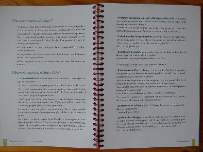 Recettes gourmandes pour personnes sensibles (1)