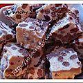 Crunchy ( chocolat, cereales, noix ce coco, cranberries )