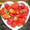 Yaourt au fraises...