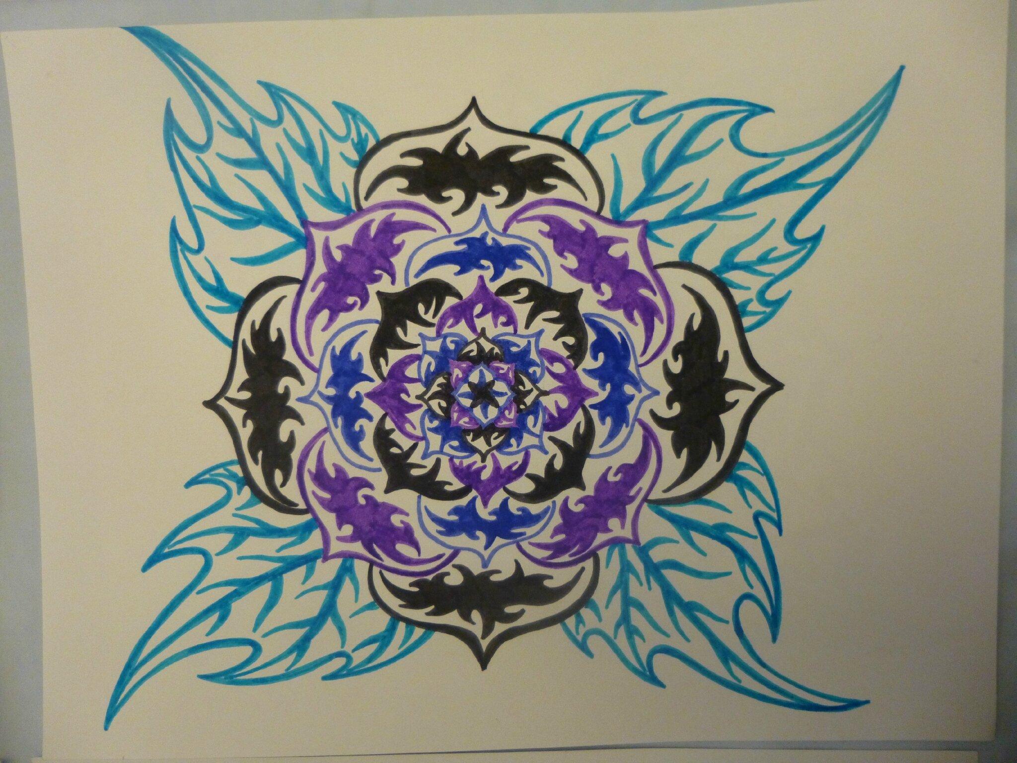 Fleurs Stylisées à Ma Façon Art Passion