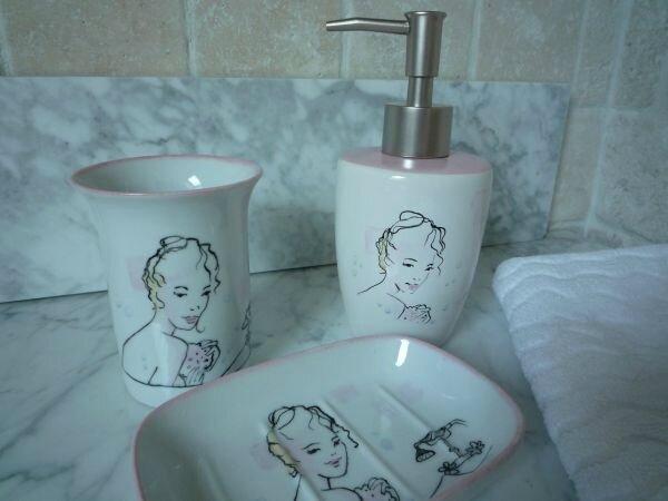 Pour une jolie salle de bains - Douce Opale Peinture Porcelaine