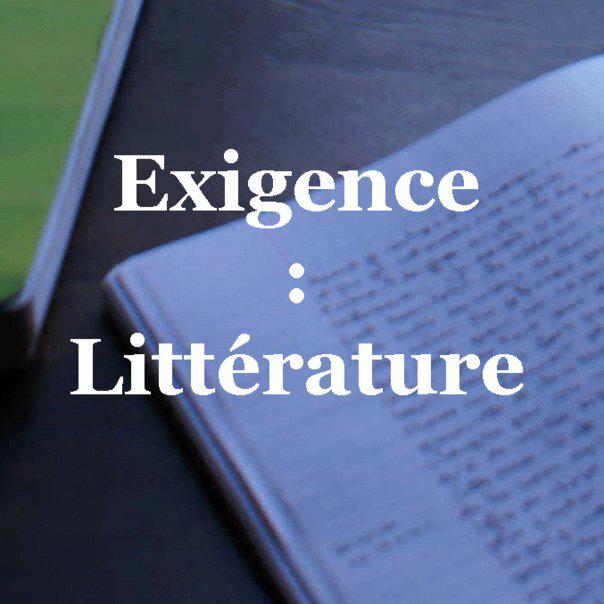 exigence littérature