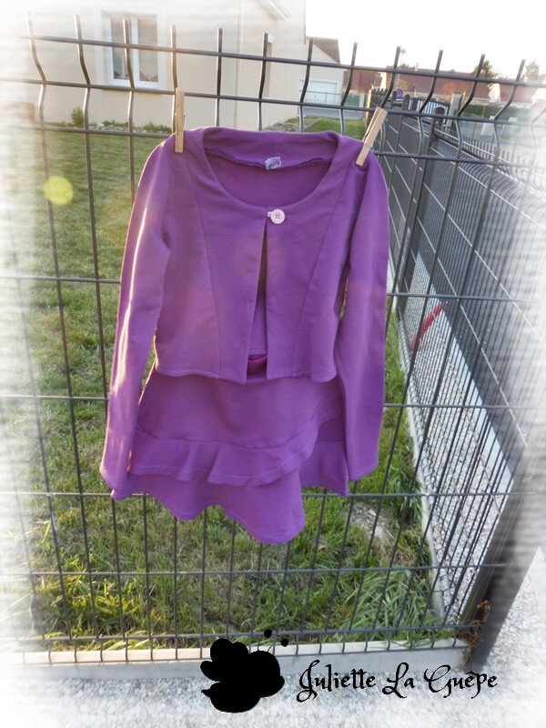 Aura et Nina sweat purple4