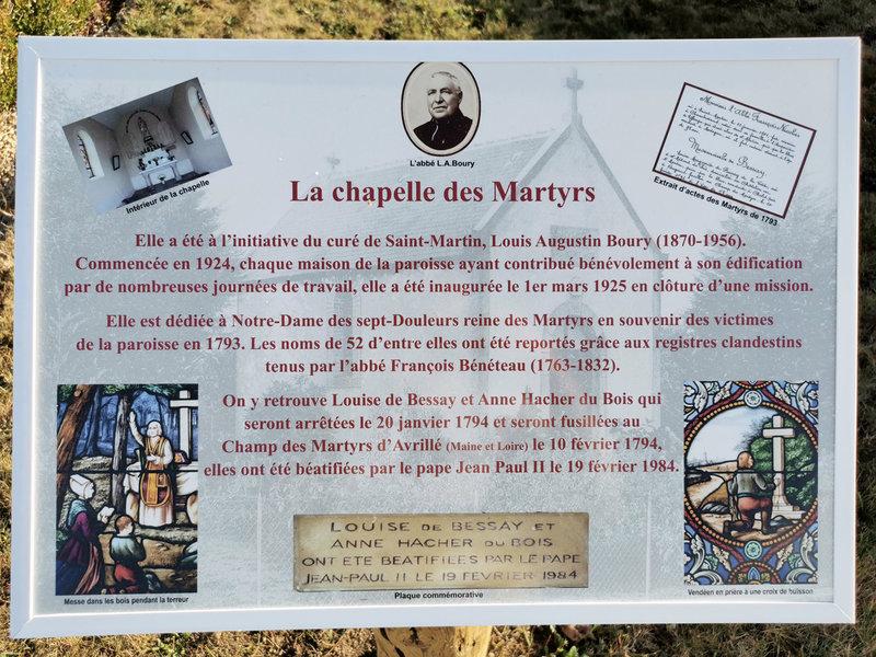 Chapelle des Martyrs 3