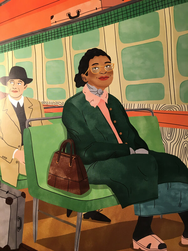 Illustration Rosa Parks