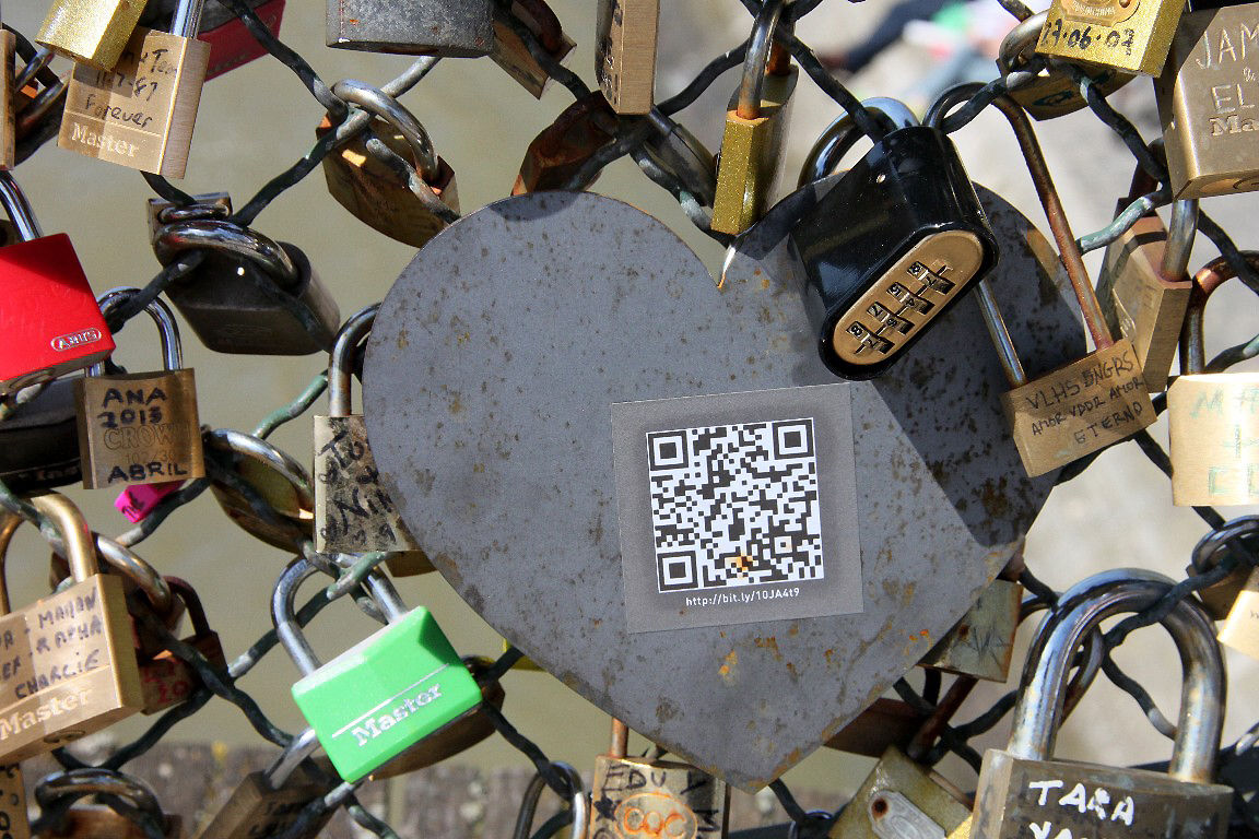 Coeur, cadenas, Pont des arts_8671