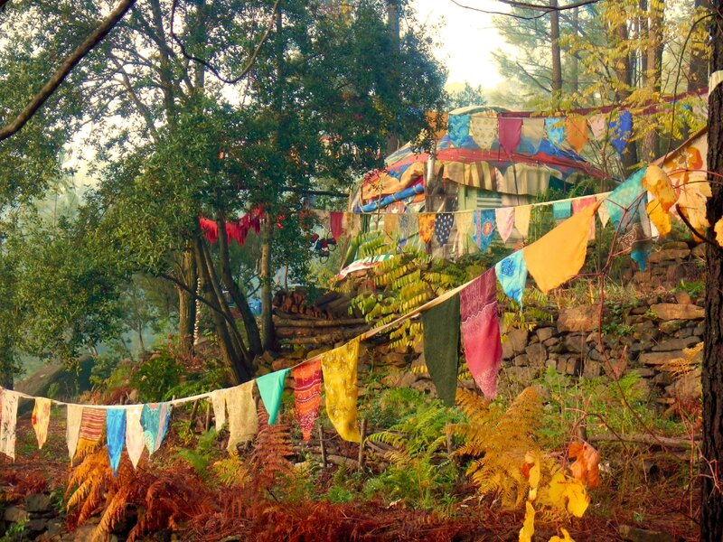 yourte yurtao automne