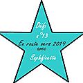 En route vers 2019 défi 13