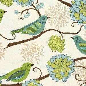 oiseaux vert bleu