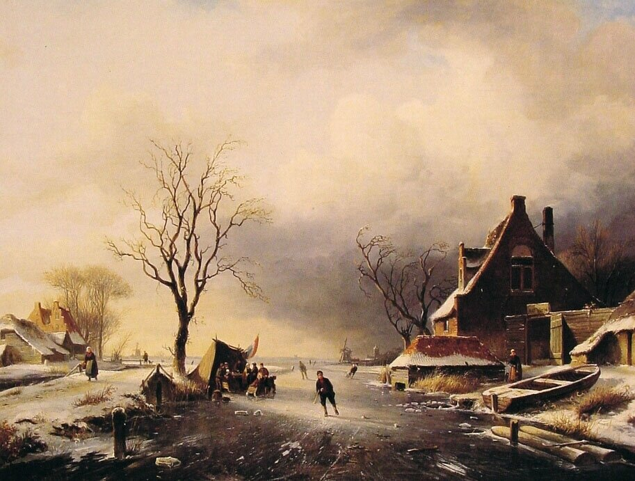 Winter_Scene_with_Skaters