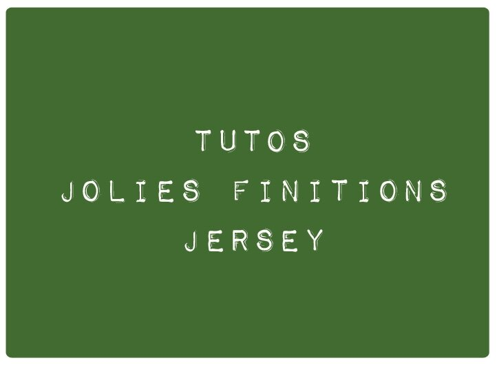 finitions jersey