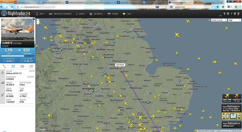 Vol au-dessus de Nottingham