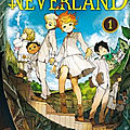 The promised neverland t.1 & t.2