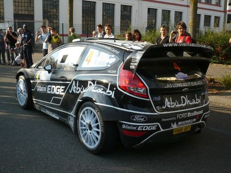 FORD Fiesta RS WRC n°4 Rallye de France-Alsace Illkirch (2)