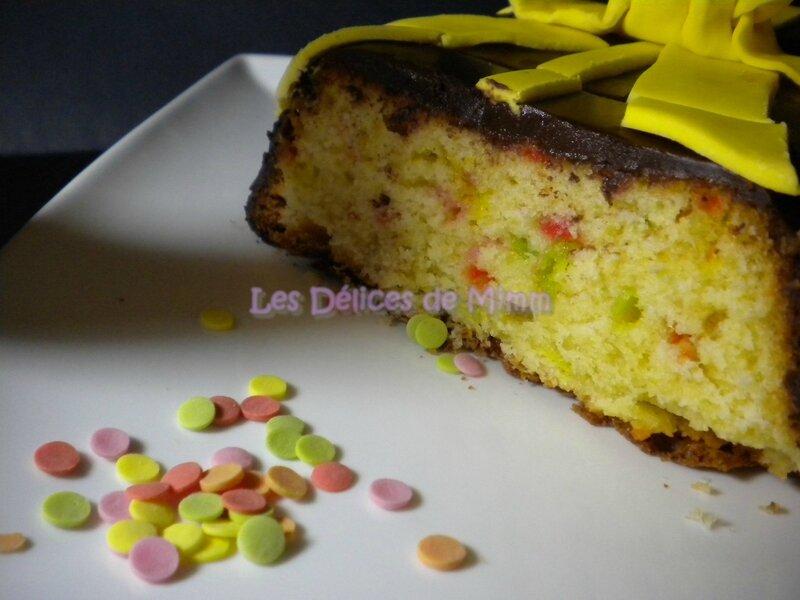 Gâteau « œuf de Pâques » au yaourt 6