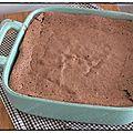 Gâteau au chocolat bellevue revisité de c. felder