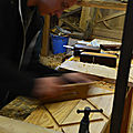 la pédagogie de l'ébéniste, chantiers et stages REMPART