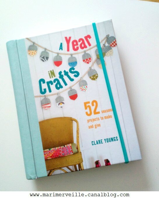 Livre a year in crafts - blog marimerveille