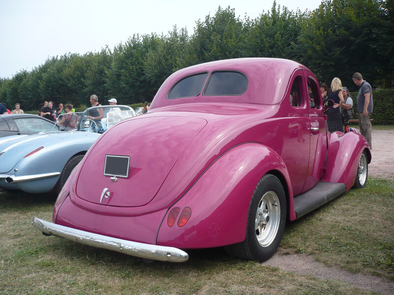 FORD Model 78 V8 2door 5window coupé Hot Rod 1937 Saverne (2)