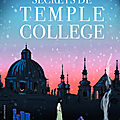 Les secrets de temple college, de cathryn constable, chez gallimard jeunesse ***