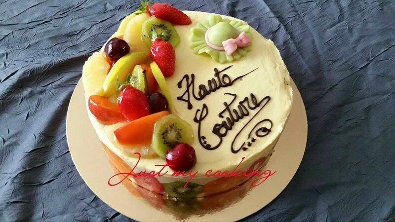 Entremet Tutti Frutti (CAP Patissier)