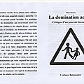 - la domination adulte - brochure